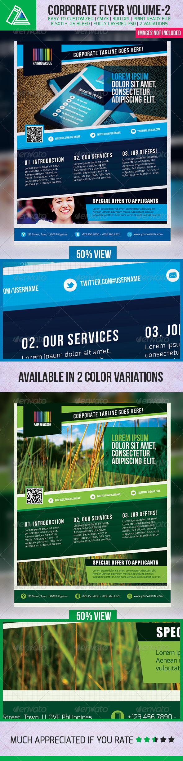 GraphicRiver IntenseArtisan Corporate Creative Flyer Vol.2 5106400
