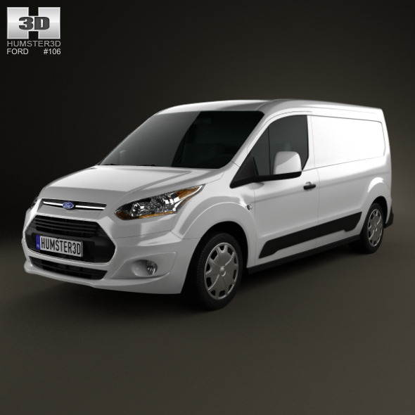 3DOcean Ford Transit Connect 2014 5170053