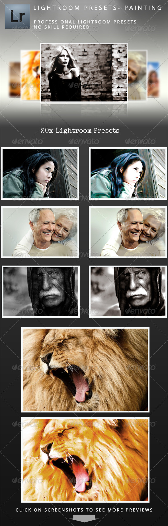 GraphicRiver 20 Brush Painting Presets 5170063