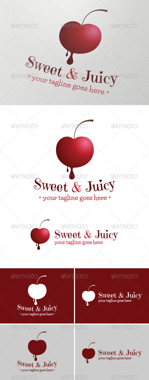 GraphicRiver Sweet & Juicy Logo 5158996