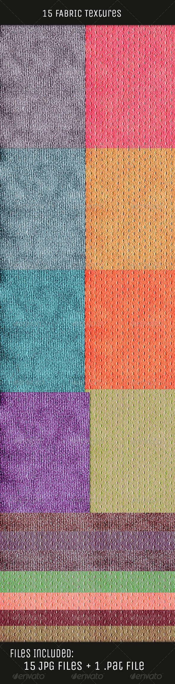 GraphicRiver Fabric Color Textures V2 5170262