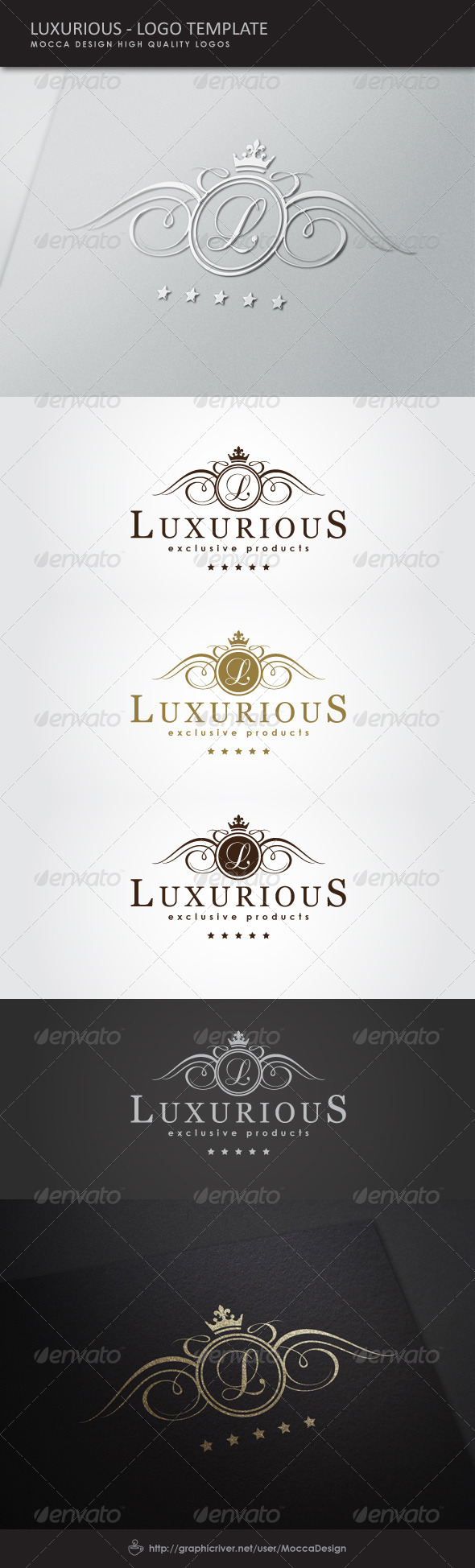 GraphicRiver Luxurious Logo 5170308