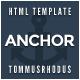 Anchor - Animation Parallax HTML5 Template - Portfolio Creative