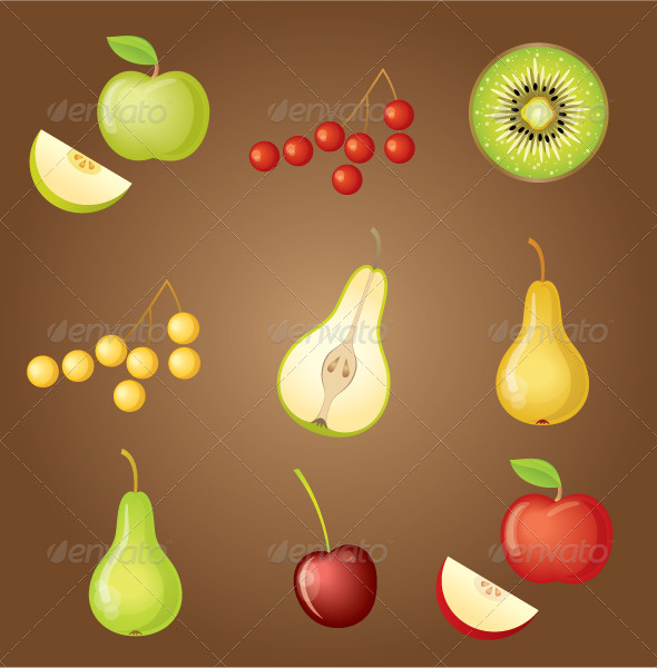 GraphicRiver Set of Fruit 5171159