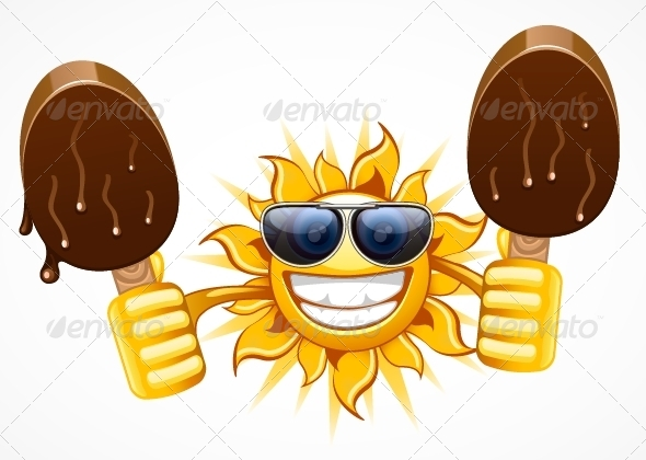 Sun with Icecream