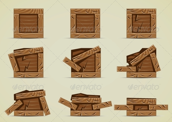GraphicRiver Broken Boxes 5171410
