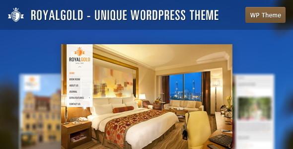 ThemeForest RoyalGold Unique WordPress Theme 5171472