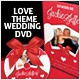 Love Theme Wedding DVD Covers & Disc Label