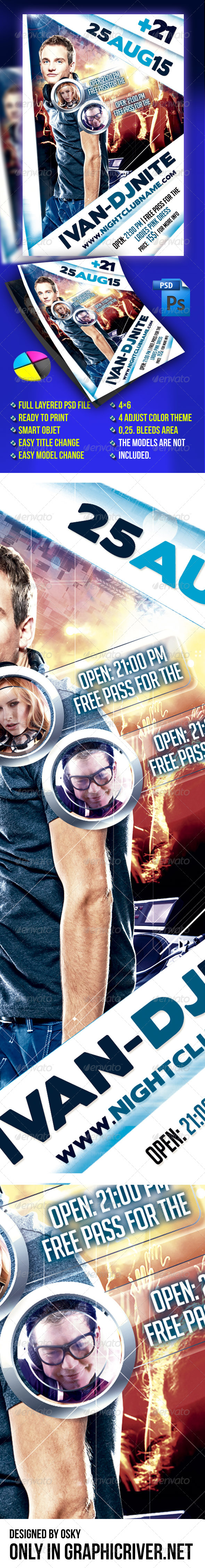 GraphicRiver Dj Event VIII 5102336