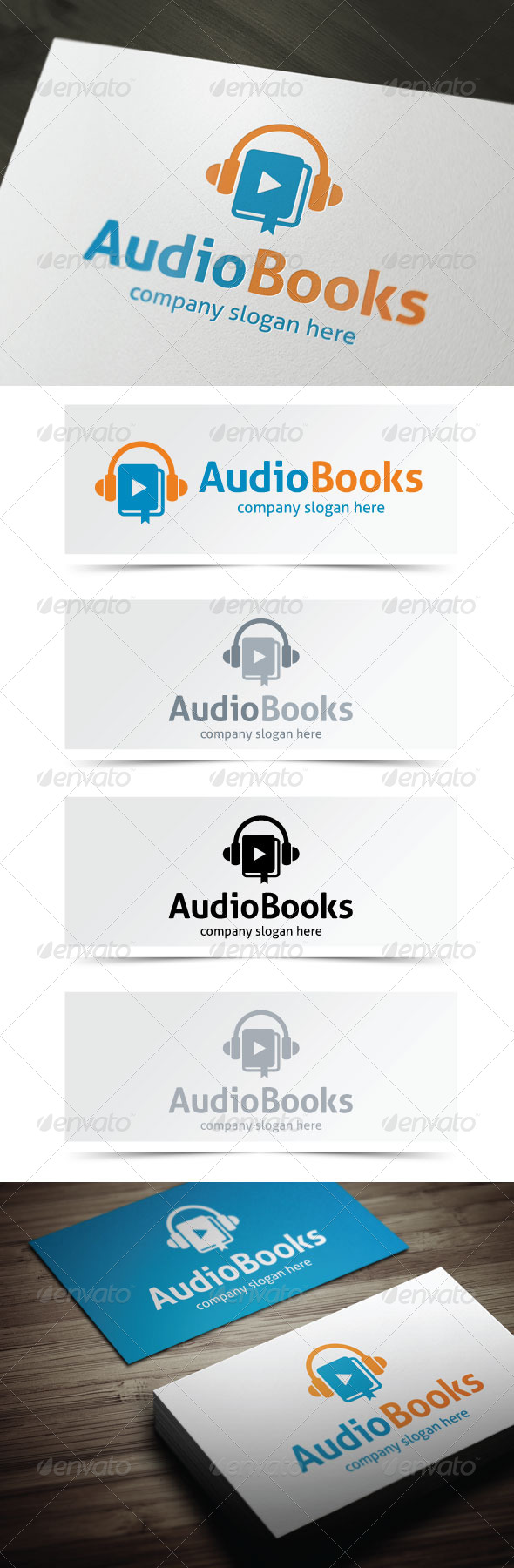 GraphicRiver Audio Books 5171775