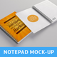Realistic Notepad Mock-Up - GraphicRiver Item for Sale