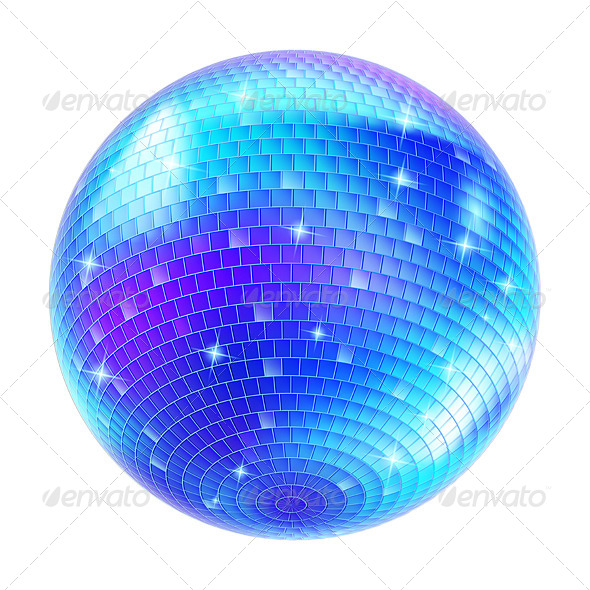 GraphicRiver Mirror Disco Ball 5171979