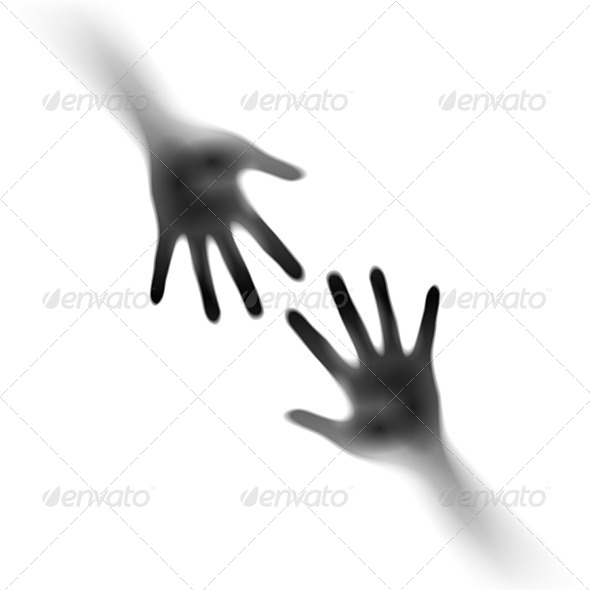 GraphicRiver Two Open Hands 5172502