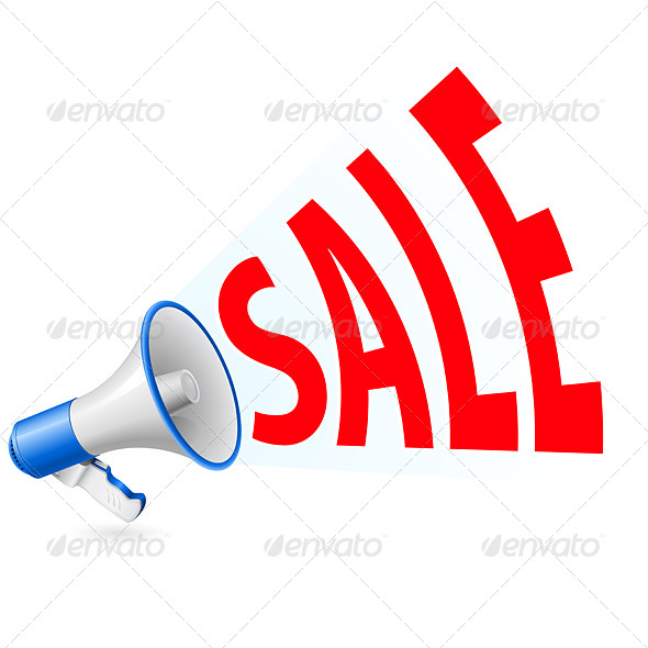 GraphicRiver Sale Megaphone 5172801