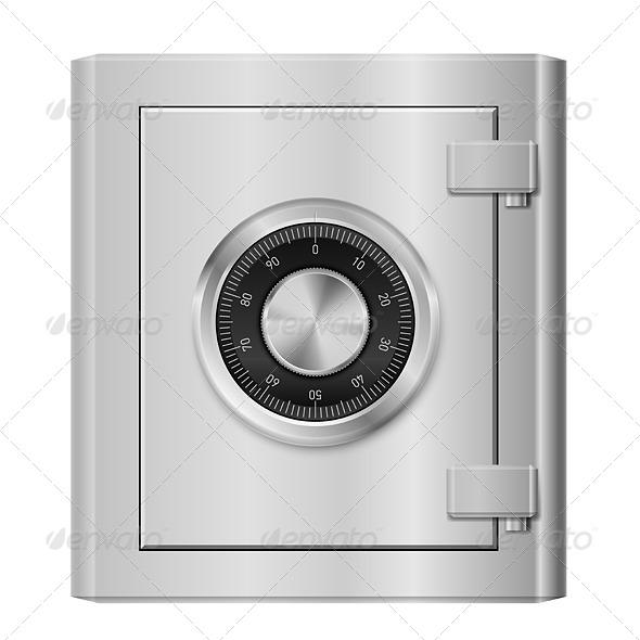 GraphicRiver Steel Safe 5172802