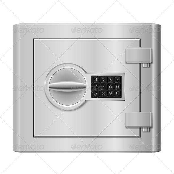 GraphicRiver Steel Safe 5172804