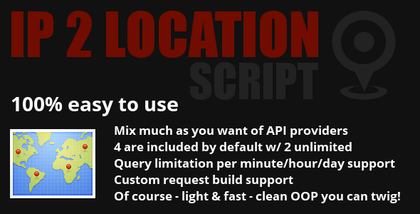 CodeCanyon IP to Location Script 5162407