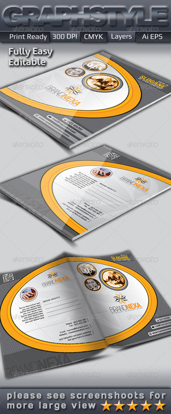 GraphicRiver Brandnexa Presentation Folder 5173500