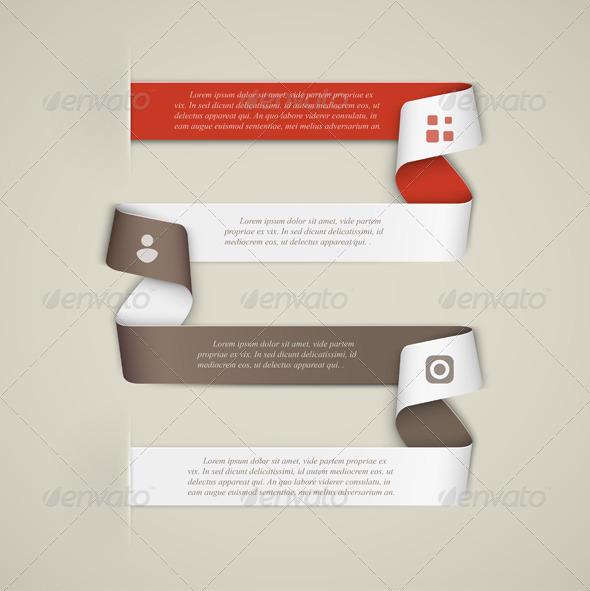 GraphicRiver Creative infographics template 5089185