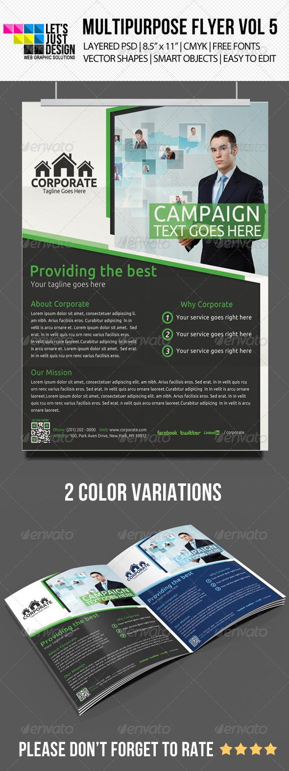 GraphicRiver Multipurpose Flyer Template Vol 5 5110881