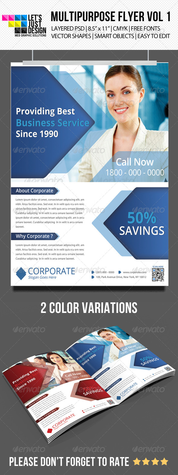 Multipurpose Corporate Flyer Vol 5