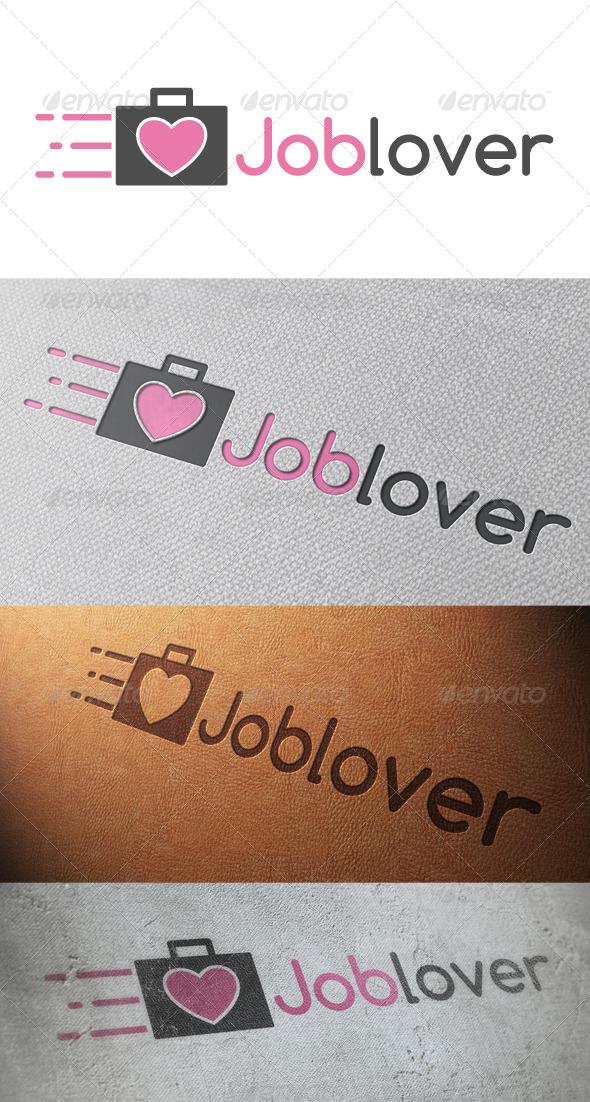 GraphicRiver Job Love Logo Template 5173805