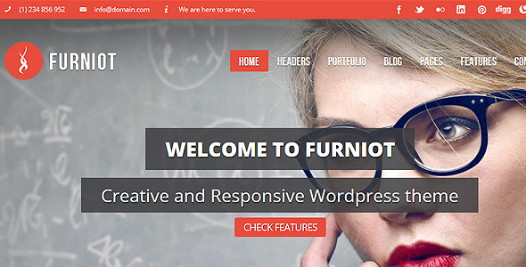ThemeForest Furniot Responsive Multi-Purpose WordPress Theme 5163420