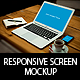 Responsive Screen Mockup - GraphicRiver Item for Sale