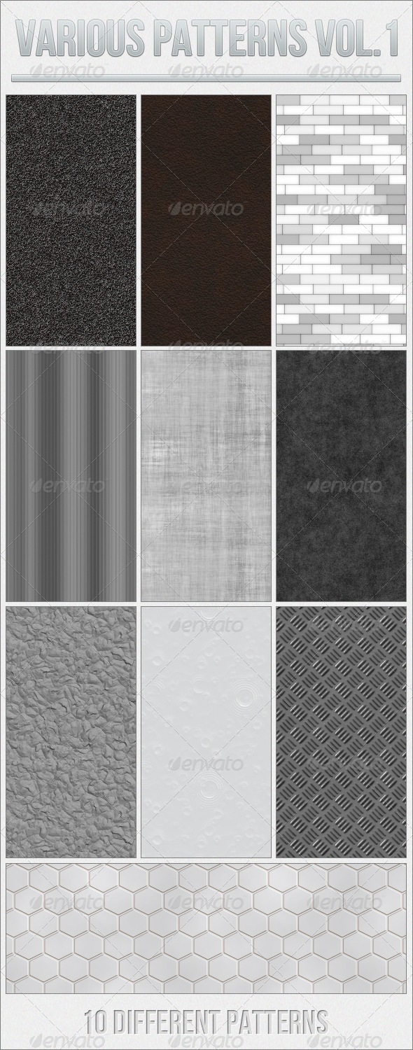GraphicRiver Various Patterns Vol.1 5174791