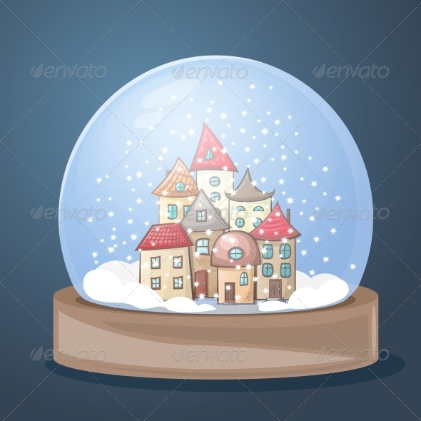 GraphicRiver Snow Globe 5174967