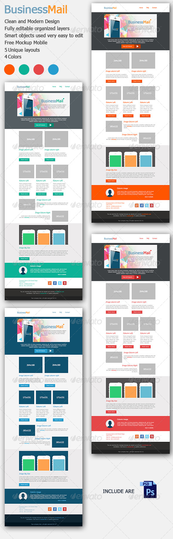 GraphicRiver Business Mail E-mail Template 5175111