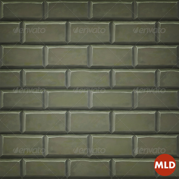 3DOcean Brick Tile Wall 5175586