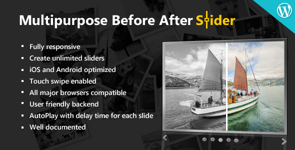 CodeCanyon Multipurpose Before After Slider 5159016