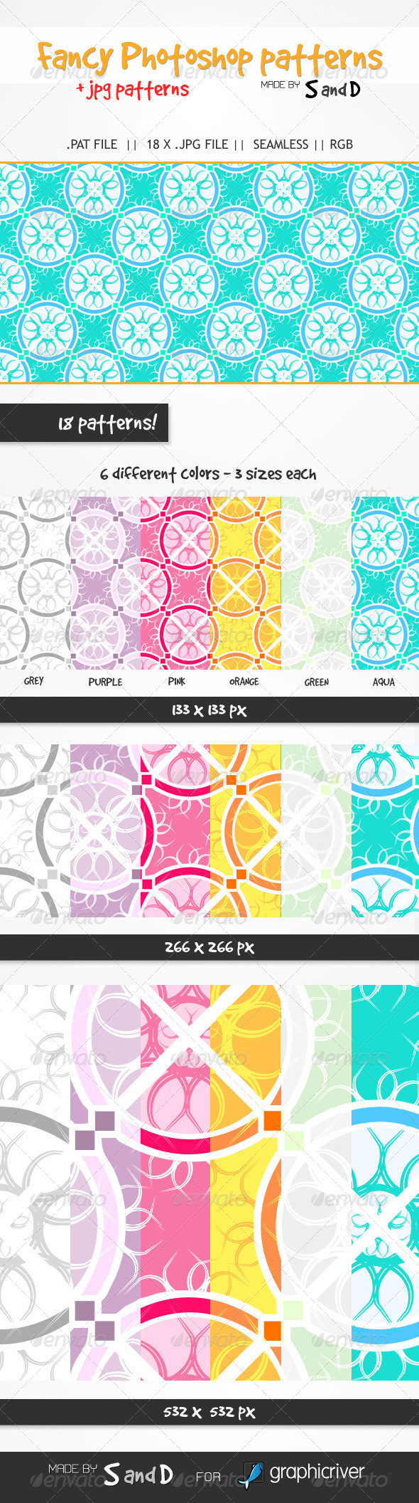 GraphicRiver Fancy Patterns 5176042