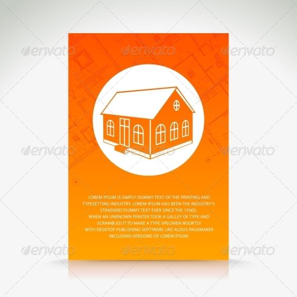 GraphicRiver Orange House Pattern 5176447