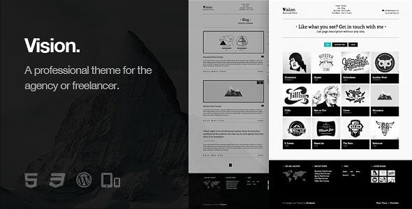 Vision - Responsive WordPress Theme