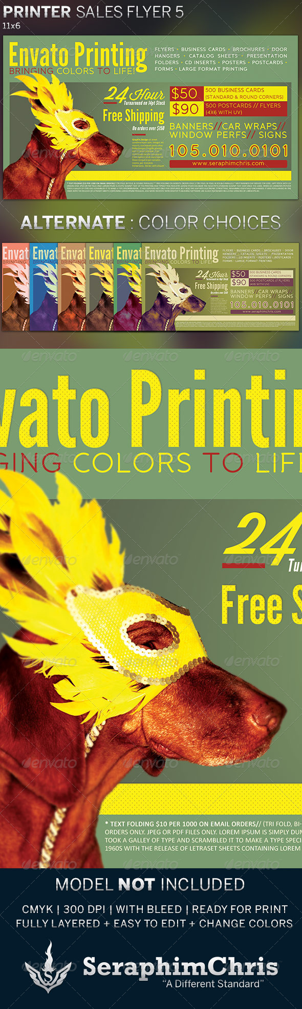 Printer Sales Flyer Template 5