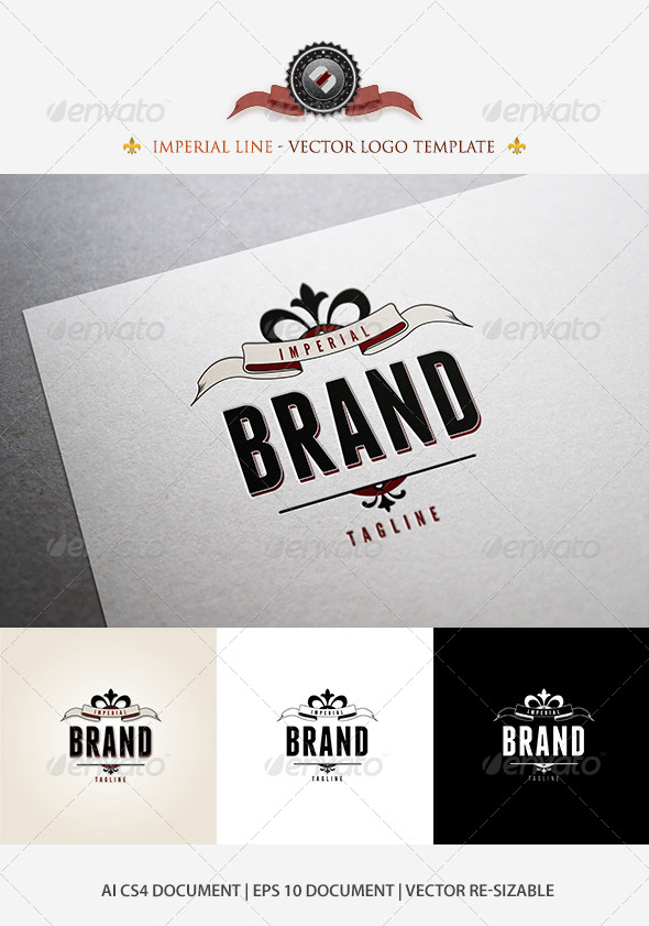 GraphicRiver Imperial Brand Logo Template 5177056