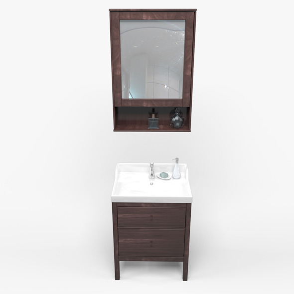 Bathroom basin - 3DOcean Item for Sale