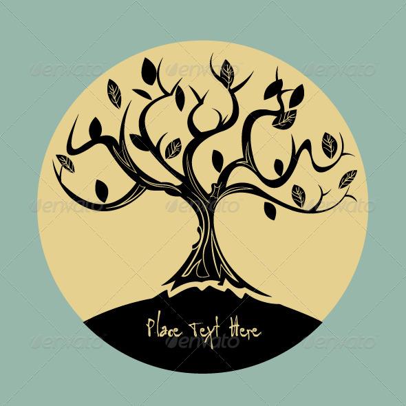 GraphicRiver Tree Background 5177135