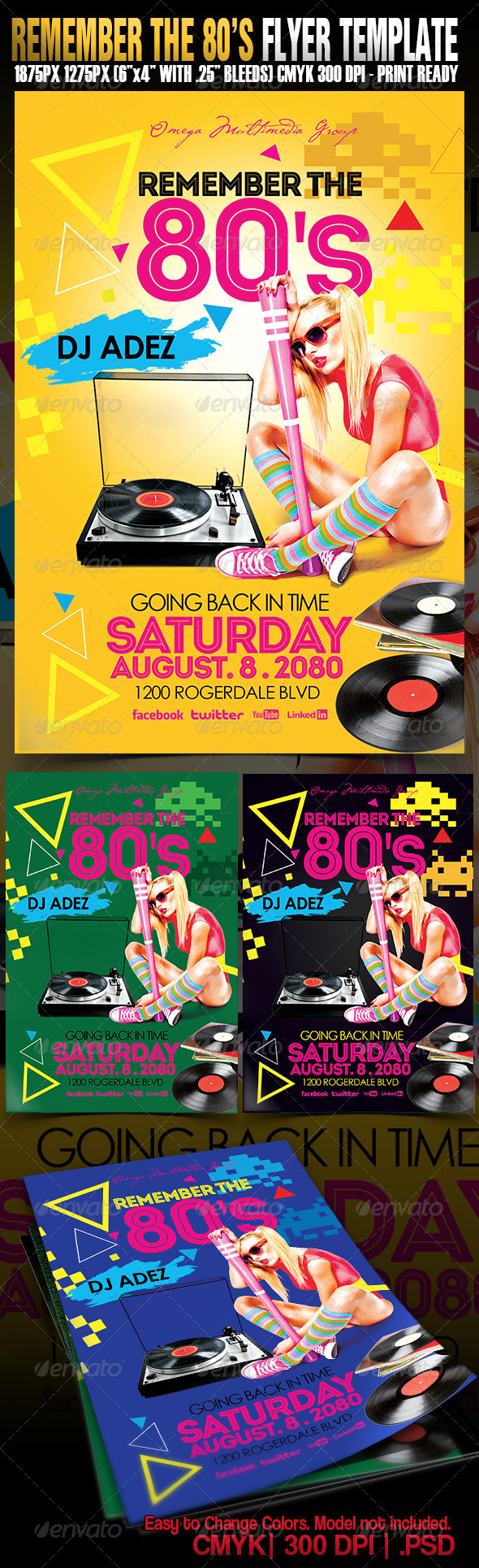 GraphicRiver Remember The Eighties 5177140