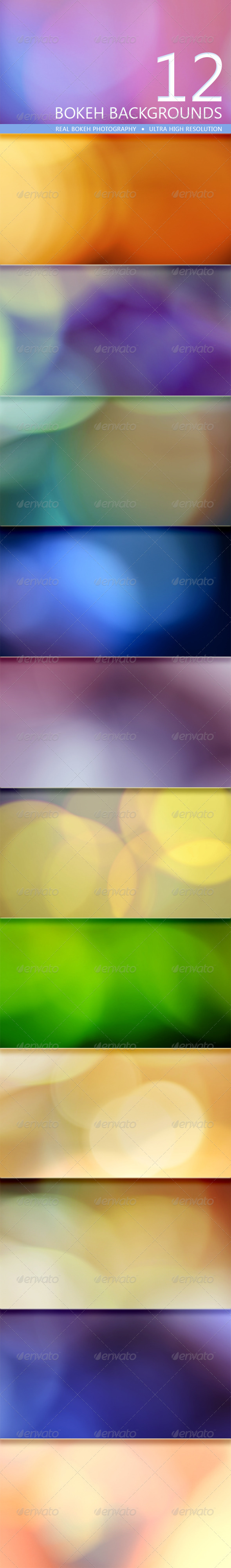 GraphicRiver Bokeh Backgrounds Volume 3 5177171