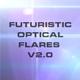 10 Futuristic Optical Flares v2.0