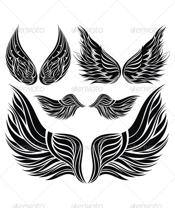 GraphicRiver Wings Collection 5177218