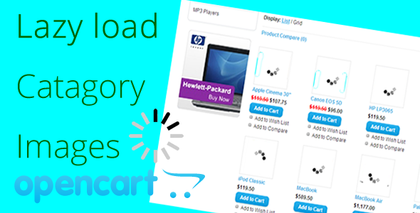 CodeCanyon lazy load images in Opencart VQMOD 5173634