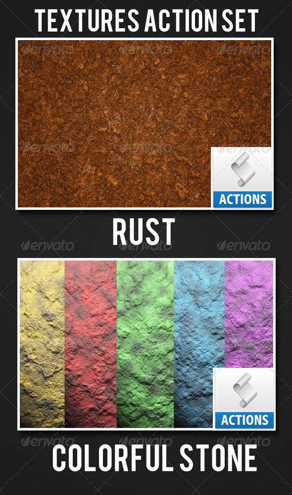 GraphicRiver Textures Action Set 5178234