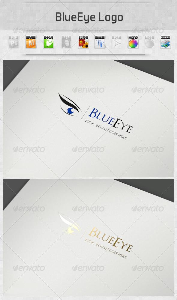 GraphicRiver BlueEye Logo 5178736