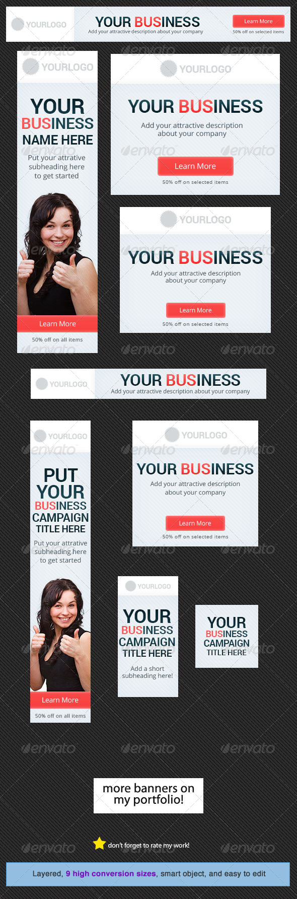 GraphicRiver Business Banner Design Template 2 5178907