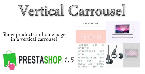 CodeCanyon Prestashop VerticalCarrousel 5178921