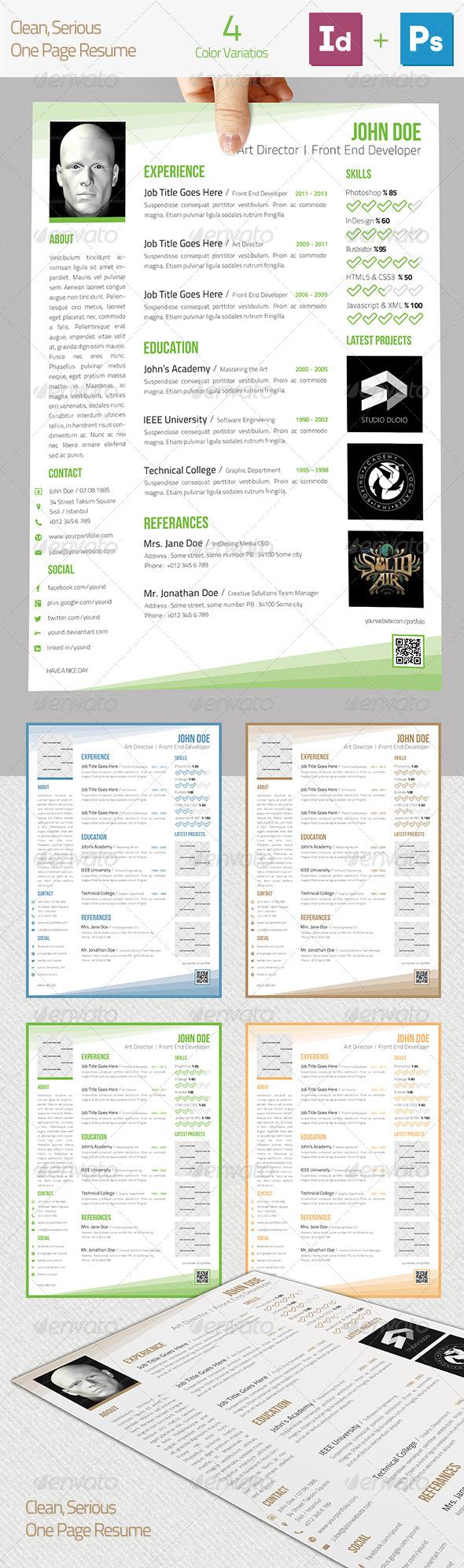 GraphicRiver Resume 5110940